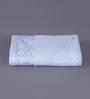 Floor & Furnishing Light Blue Cotton 16 x 24 Hand Towel - Set of 2