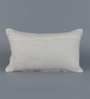 Floor and Furnishings White Cotton 20 x 12 Inch Dream Cushion Cover