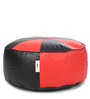 Floor Cushion Filled with Beans in Red & Black Colour by Can