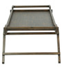 Foldable Bed Coffee Table in Brown Colour by ClasiCraft