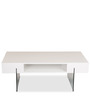 Ford Coffee Table in White Colour by Durian