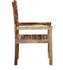 Dallas Arm Chair in Natural Sheesham Wood Finish by Woodsworth
