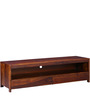 Freemont Entertainment Unit in Honey Oak Finish by Woodsworth