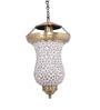 Fos Lighting White Captivating Brass Pendant