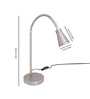 Fos Lighting Modern Steel Study Lamp