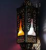 Fos Lighting Multicolour Brass & Glass Wall Light