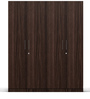 Four Door Compact Wardobe in PLPB with Figured Wenge Finish by Primorati