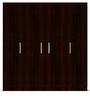 Four Door Wardrobe Euro Wenge Finish in MDF by Primorati