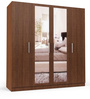 Four Door Wardrobe in Maldau Acacia Dark finish in PLPB By Primorati
