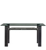Four Seater Designer Dinning Table in Black Colour by Parin