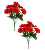 Fourwalls Red Gerbera Flower - Set of Two