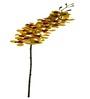 Fourwalls Yellow Polyethylene Artificial Mokara Orchids