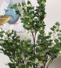 Fourwalls Green Polyester 620 Leaves Artificial Japanese Maple Floor Plant