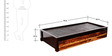 Bogota Solid Wood Single Bed in Dual Tone Finish by Woodsworth