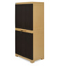 Freedom Medium Cabinet in Brown Colour by Nilkamal