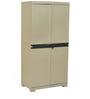 Freedom Mini Medium Storage Cabinet in Pastle Green & Grey Colour by Nilkamal