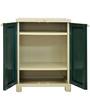 Freedom Storage Unit in Pestlegreen & Olivegreen Colour by Nilkamal