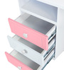 French Collection Study Table in Pink Finish by Alex Daisy