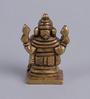 Frestol Golden Brass Antique Platted Ganesh