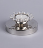 Frestol Silver Steel Round Tea Light Holder