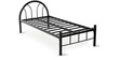 Full Metal Single Bed by FurnitureKraft