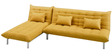 Furny L shaped Sofa bed in Yellow colour by Furny