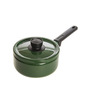 Fujihoro 2200 ML Sauce/Milk Pan - Olive Green