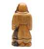 Furncoms Brown Wooden Buddha