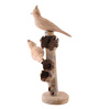 Furncoms Multicolour Wooden Two Hump Birds Showpiece
