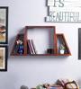 Hadise Wall Shelf in Oak by Bohemiana