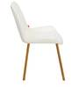 Fusion Dining Chair in White Colour by @Home