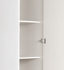 Fusion Dresser with Storage in White Colour by @ Home