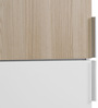 Fusion Single Door Wardrobe in White Colour by @ Home