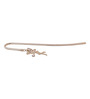 G N G 24K Gold Plated with Swarovski Crystals Golden Fairy Bookmark