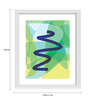 Gabambo Paper 12 x 1 x 14.5 Inch Abstract Art 2 Wooden Framed Poster