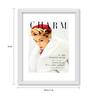Gabambo Paper 12 x 1 x 14.5 Inch Vintage Jean Pritchett Magazine Cover Wood Finish Framed Poster