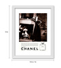 Gabambo Paper 12 x 1 x 15 Inch Chanel No.5 Vintage Wood Finish Framed Poster