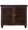 Woodinville Shoe Rack in Provincial Teak Finish by Woodsworth