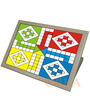 Game Printed Folding Wooden Laptop Table by Orka