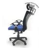 Geneva Computer Chair with Headrest by Chromecraft