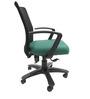 Geneva Desktop Marina Office Ergonomic Chair in Black & Green Colour by Chromecraft