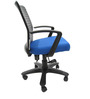 Geneva Desktop Marina Office Ergonomic Chair in Dark Blue Colour by Chromecraft