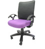 Geneva Desktop T Office Ergonomic Chair in Purple Colour by Chromecraft