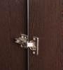 Geneva Three Door Wardrobe in Black & White Colour by Royal Oak
