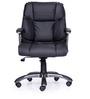 Genius Medium Back Chair in Black Colour by Durian