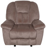 Genoa One Seater Recliner Sofa in Khaki Colour by Evok