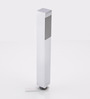 Gesign White Brass 9 x 1.6 x 1.6 Inch Handheld Shower