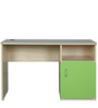 Gia Study Table in Golden Maple & Green Colour by HomeTown