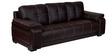 Gloria Three Seater Sofa in Brown Colour by Home City