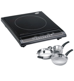Glen GL 3070 Induction Cooker + Glen 3Pcs. Gift Set